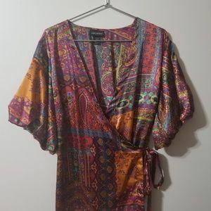 Lane Bryant - gorgeous wrap blouse